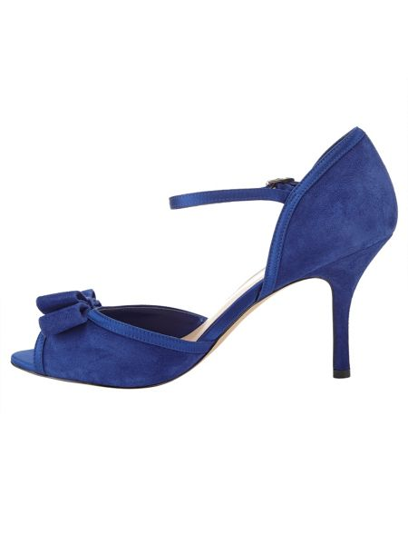 Phase Eight Suzie Suede Peep Toe Shoes