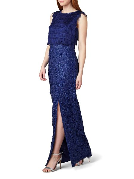 Phase Eight Julianna Fringe Full Length Dress