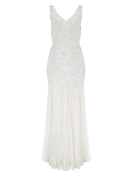 Phase Eight Talunia sequin full length dress