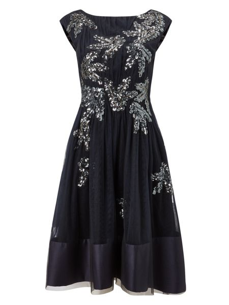 Phase Eight Areatha Tulle Sequin Dress