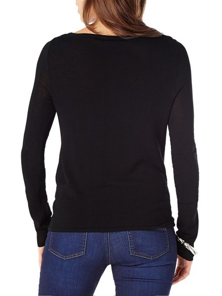 Phase Eight Gretchen twist knit top