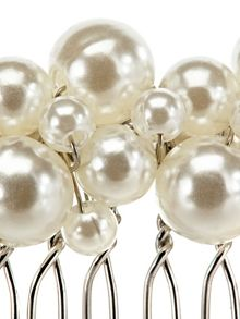 Phase Eight Pearl and crystal hair comb
