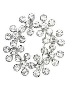 Phase Eight Sara crystal brooch