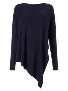 Phase Eight Reine Asymmetric Knit Top