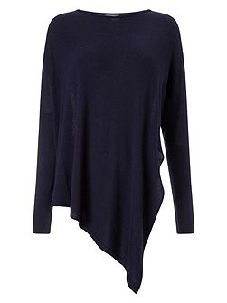 Reine Asymmetric Knit Top
