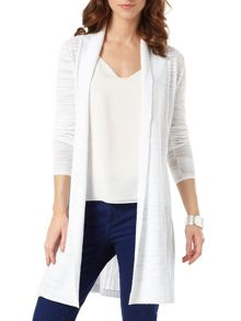 Phase Eight Slub Lili Longline Cardigan