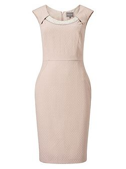 Belle Pearl Trim Dress