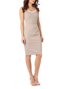 Phase Eight Belle Pearl Trim Dress