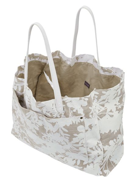Phase Eight Ina Printed Canvas Bag