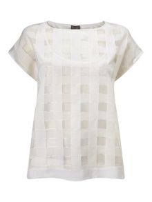 Phase Eight Marlena Check Top