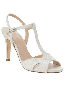 Phase Eight Ally Leather T-Bar Sandals