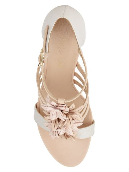 Phase Eight Flo Leather Block Heel Shoes