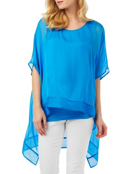 Phase Eight Monika Oversized Silk Blouse