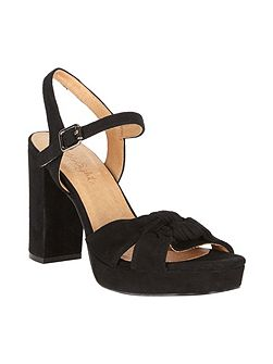 Jennie Leather Platform Sandals