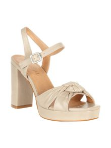 Phase Eight Jennie Leather Platform Sandals