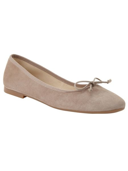 Phase Eight Suede Ballerina Shoes