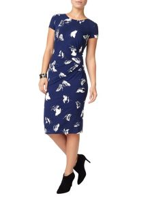 Phase Eight Butterfly Print Dress