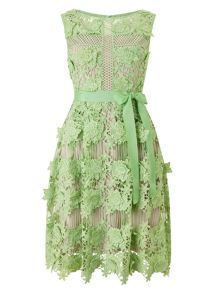 Phase Eight Genie 3D Lace Dress