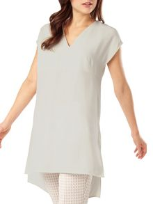 Phase Eight Maya satin crepe tunic