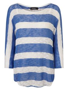 Phase Eight Wide Stripe Saskia Top