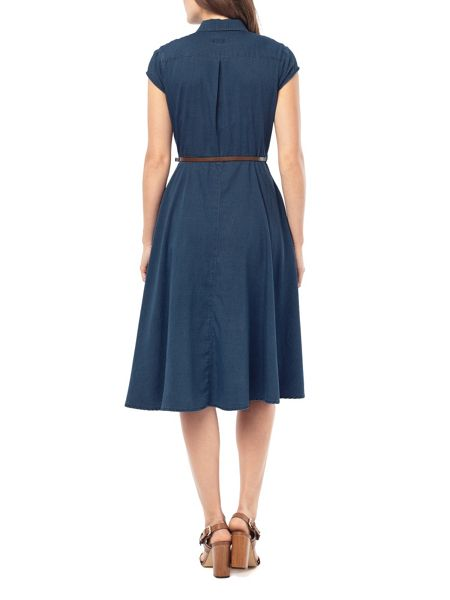 Phase Eight Phase Eight Sophie Denim Chambray Dress