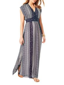 Phase Eight Tahlia Geo Print Maxi Dress