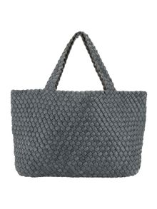 Phase Eight Reversible Weave Tote Bag