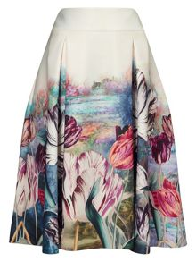 Phase Eight Eden Print Skirt