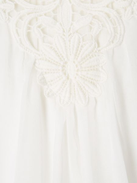 Phase Eight Lua Lace Trim Blouse