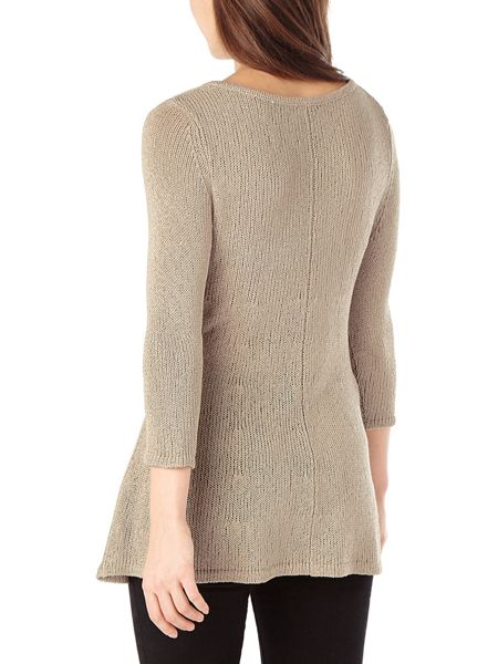 Phase Eight Tape yarn cali knit jumper