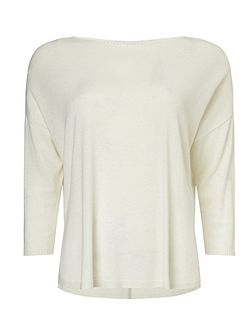 Christina Side Split Knit Top