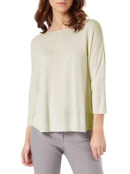 Phase Eight Christina Side Split Knit Top