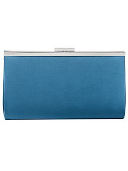 Lucy Satin Clutch Bag