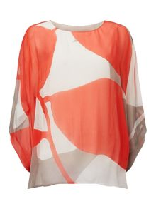 Phase Eight Esmerelda Print Silk Blouse