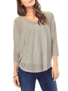Phase Eight Phase Eight Spot Burnout Top