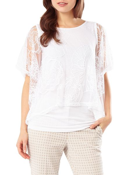 Phase Eight Cecily double layer top