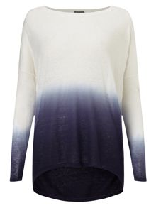 Phase Eight Dip Dye Elen Ellipse Jumper