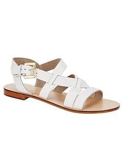 Lucie Leather Sandals