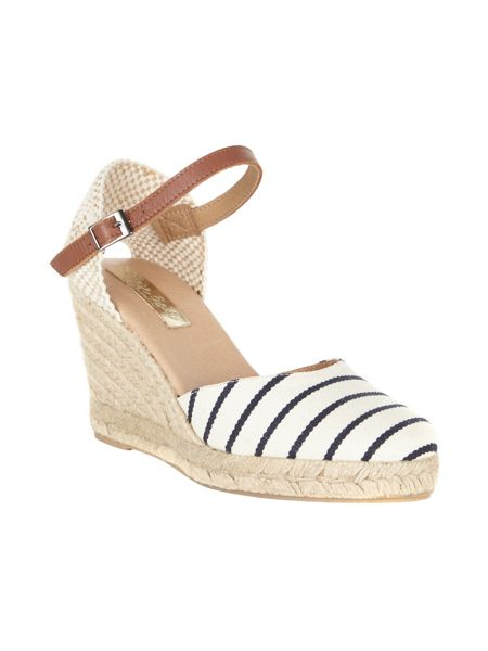 Phase Eight Verity Stripe Espadrilles