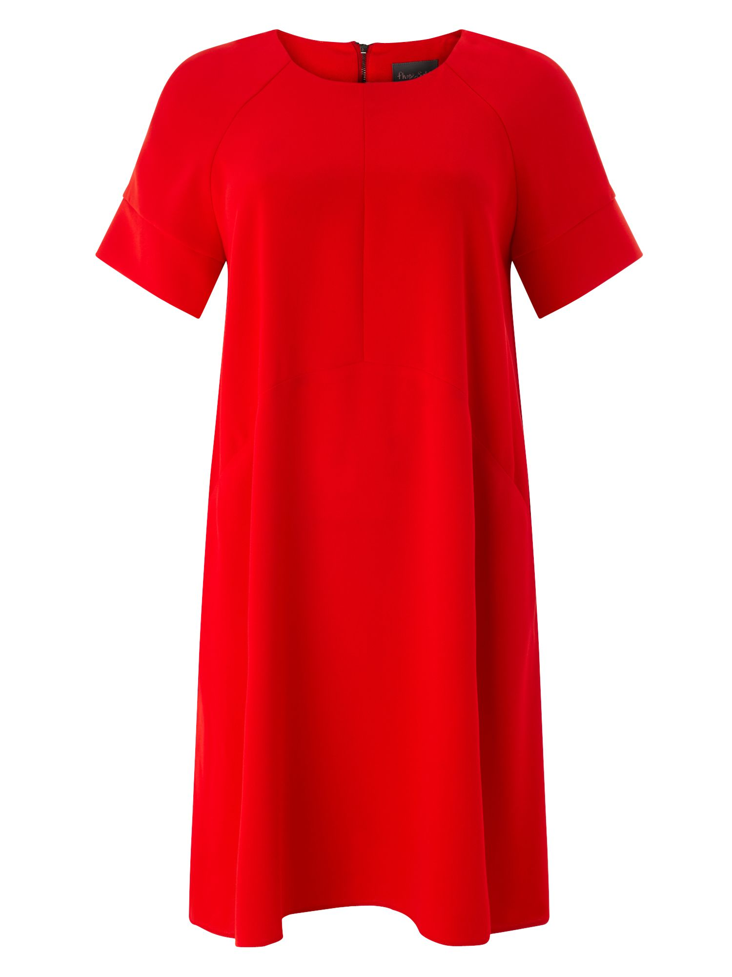 Phase 8 red dress goes