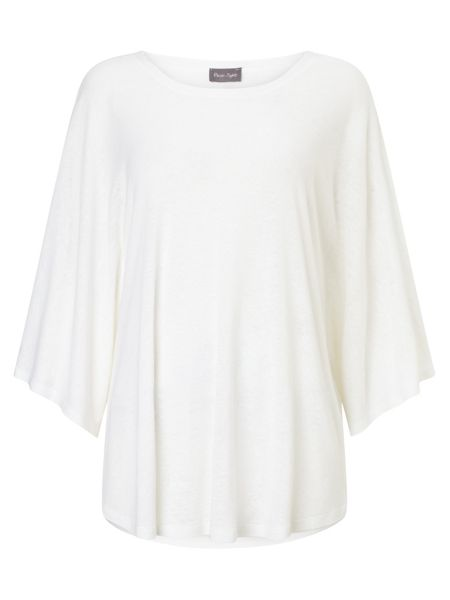 Phase Eight Louise Linen Top