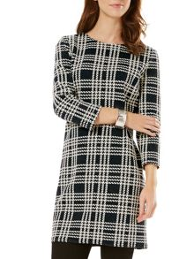 Phase Eight Claudia Check Tunic