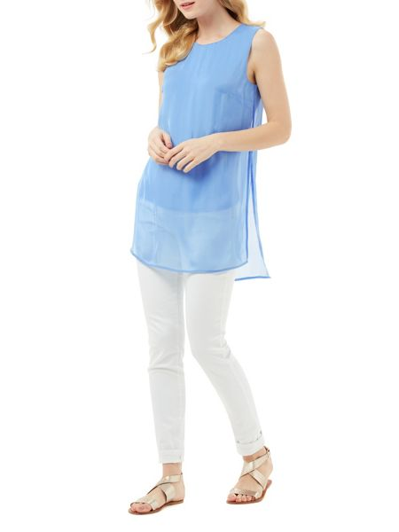 Phase Eight Clara Silk Tabard Tunic