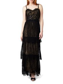 Phase Eight Hilda Fringe Full Length Dress