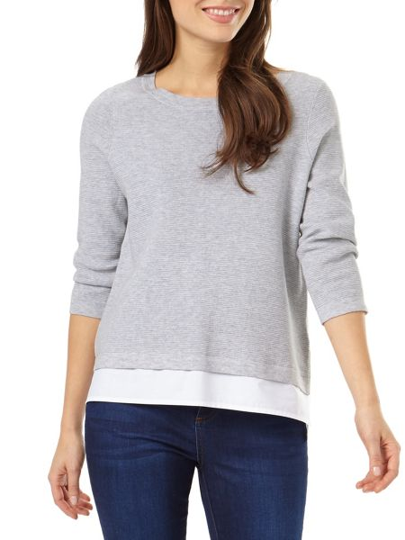 Phase Eight Rufina Ripple Stitch Knit Jumper