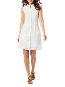 Phase Eight Tessa Broderie Shirt Dress