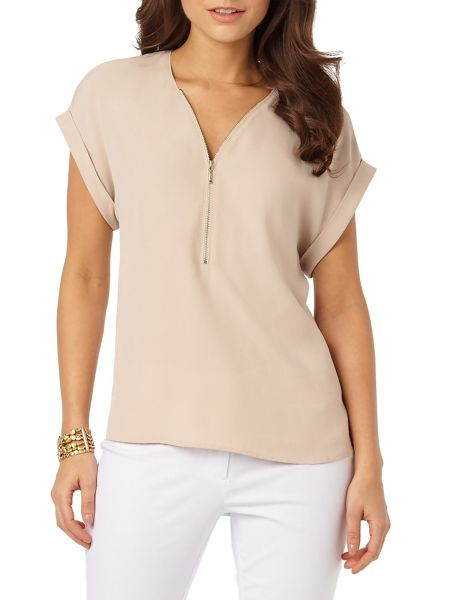 Phase Eight Remi Zip Front Blouse