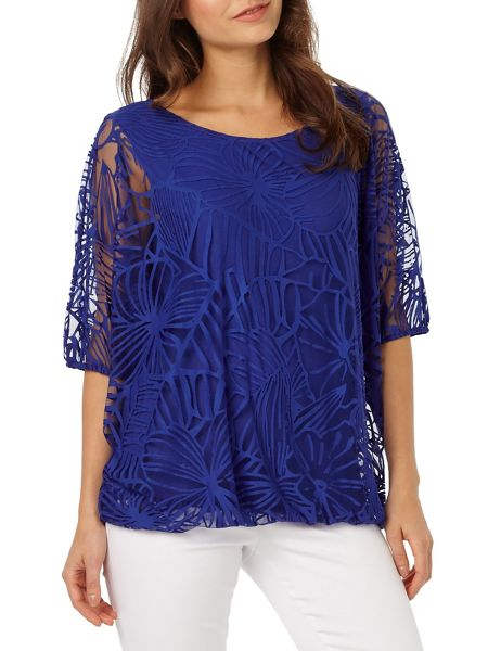 Phase Eight Cecily Burnout Top