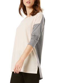 Phase Eight Sharon Colour Block Top