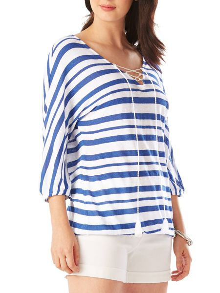 Phase Eight Jenny Stripe Top